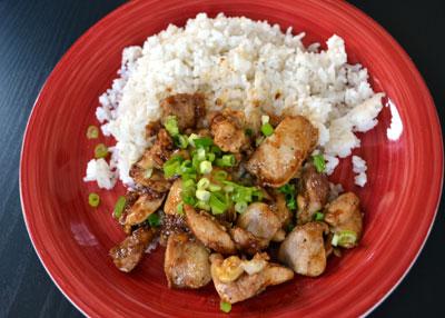 Thai garlic chicken thai recipes thai garlic chicken forumfinder Choice Image